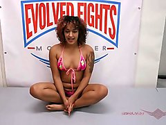 Daisy Ducati and Ruckus get down, dirty, and fuck on the wrestling mat