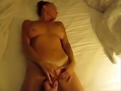 Big tittied tanned wife gets finger fucked