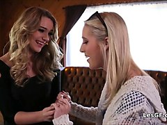 squirting engagement foursome lesbian party