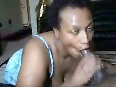 great yum-yum blowjob by my cum-thirsty ebony wife