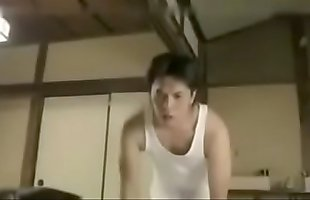 Asian Japanese Milf was caught masturbating by her boy - ReMilf.com
