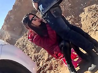Fuck little Chinese girlfriend in public - Watch Part2 on imlivefreecams.com