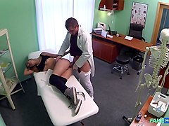 Amazing pornstar in Best Stockings, Medical porn movie