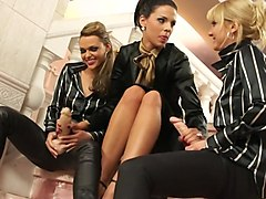 Incredible pornstars Susan Snow, Stacy Silver and Alyssia Loop in fabulous threesome, lesbian xxx movie