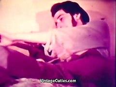 wife uses husband's long big dick (1960s vintage)