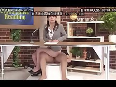 Japanese News Reporter Fuck Mini Compilation 3