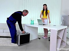teenmegaworld -old n young- old man fucks a fresh babe