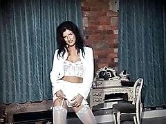 Don't Stop The Dance - British lingerie beauty striptease