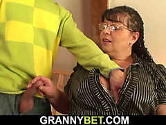 big tits bookworm mom is picked up for play