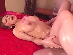 Horny Japanese chick Emi Harukaze in Exotic Massage, Big Tits JAV scene
