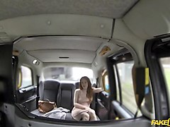 Ella in Posh Redhead With Big Nipples - FakeTaxi