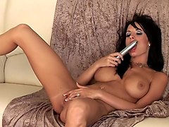 Alektra Blue Makes Love to Her Vibrator