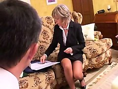 french mature christine analfucked by a customer