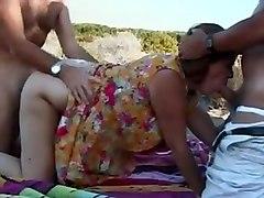 hot britsh mature mum threesome