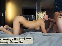 MHBHJ - Marsha May - Marshas cheating little suck hole