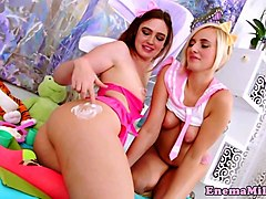 bizarre enema fetish babes enjoy analplay
