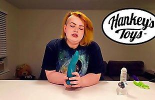 Velma Voodoos Reviews: the TAINTACLE - hankeys toys unboxing