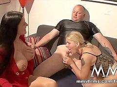 Best pornstar in Horny German, Blowjob adult video