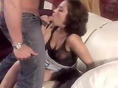 Starlet likes rod only up her butt