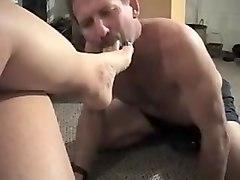Fabulous amateur Foot Worship, Femdom adult scene