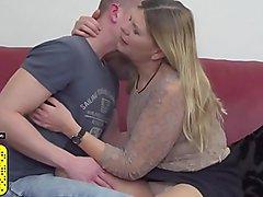 Granny Constance having sex with cute boy