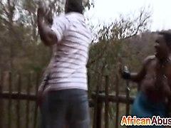 blacks, horny, milf, abused, fingering