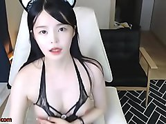webcams, masturbating, big tit, korea, teasing