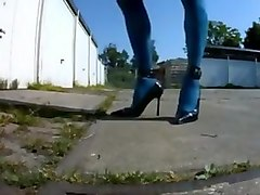 Sissy got new shoes