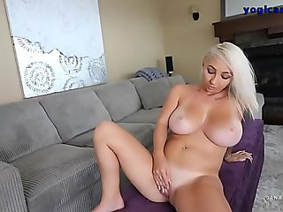 Sensual Bitch Posing For Us On Webcam