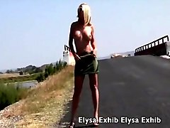 Nude In Public On The Road