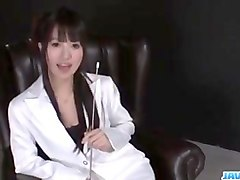 tight, kotomi asakura, moans with a big toy in her pussy