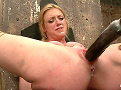 Dee Williams in Gorgeous Squirting Orgasmic Rope Slut Gets Bound And Defiled - HogTied