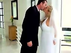 Devon fucked hard in wedding dress