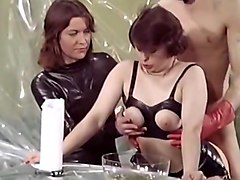 piss, vintage, pissing, film, group sex