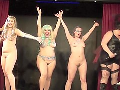 Burlesque Strip SHOW 61 Madame JoJos Tabu Naked Cabaret