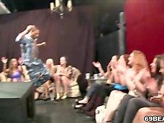 girls go wild at dancing bear orgy