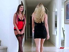 step sisters august ames & ryan ryans lesbian sex