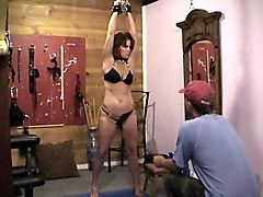 milf slave chained & doggy fucked (found)