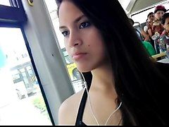 teen, bus, girls, cute, home