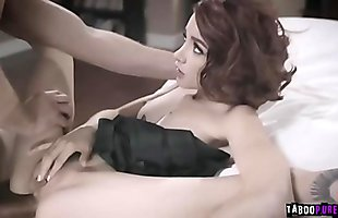 Teen and sugar daddy goes on sixty nine position eating up each other!