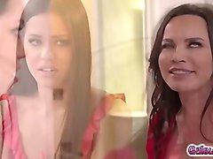 Alina Lopez licking Dana DeArmonds milf twat!