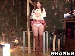 spanking, casting, submissive, schoolgirl, spank