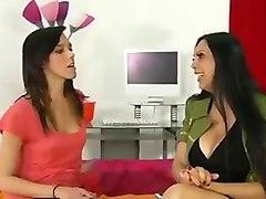 MILF and Teel Blowjob Angela D'Angelo & Binky Bangs