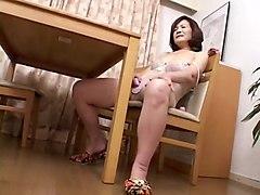 Horny Mature, Masturbation adult movie