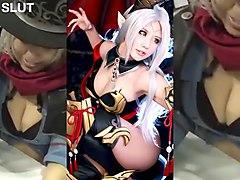 spcats tasha cosplay jerk off challenge