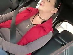 good granny pros bj in car