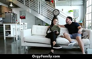 Step Sister Seduces Her Horny Step Brother