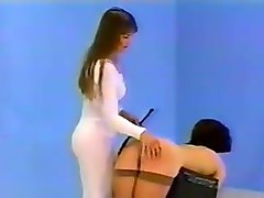 Girl spanks girl