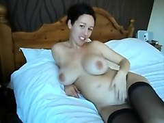 Exotic Amateur record with Stockings, Solo scenes