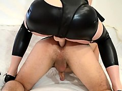 Milking Prostate With A Sex Toys And Fucked Hard By Strapon